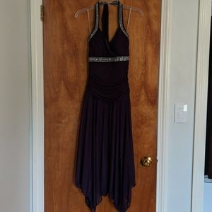 Halter Top Formal Dress